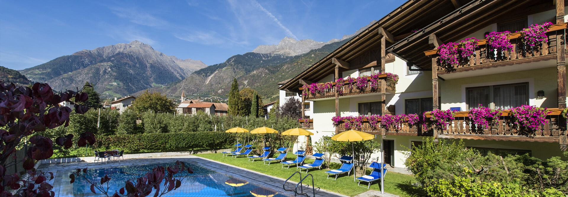 Apartment in South Tyrol: your holiday in Lagundo/Algund